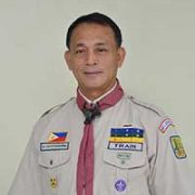 Cedrick G. Train, Chief National Commissioner, Boy Scouts of the Philippines